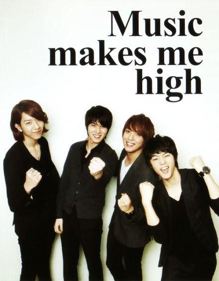 Their music definitely does! CNBlue ♡ Lee Jung Shin, Lee Jong Hyun, Jung Yong Hwa and Kang Min Hyuk
