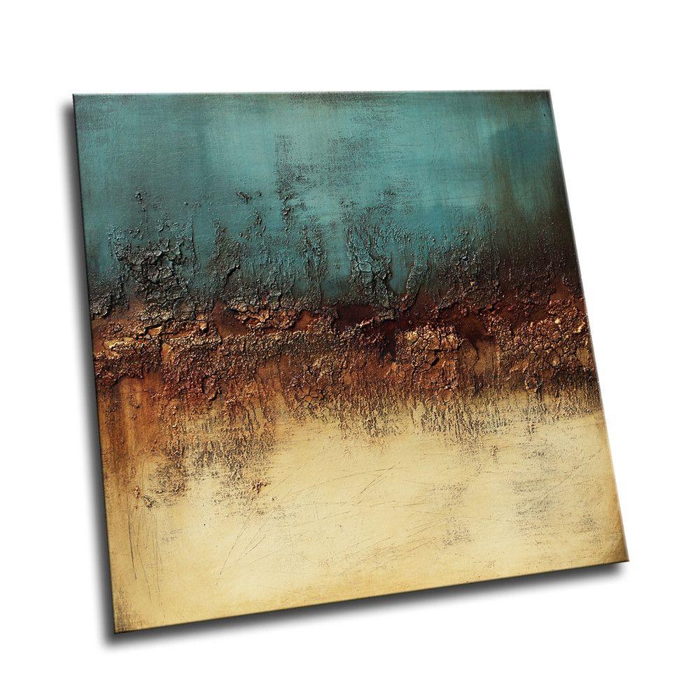 Alufolie Struktur Abstrakt Acrylmalerei Abstrakt Abstrakt Abstrakte Malerei Acryl