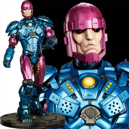 """Standing a staggering 32"""" tall, the Sentinel Maquette is a stunning addition for any Marvel or X-men collection.  $854.99"""