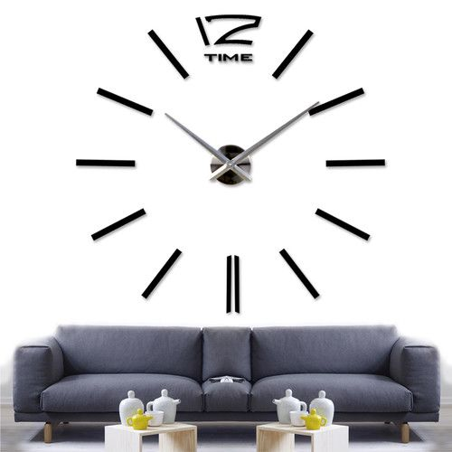 Oversized Sybil 130cm Wall Clock Diy Clock Wall Large Wall Clock Decor Clock Wall Decor