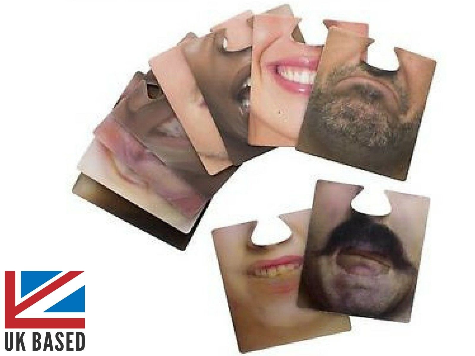 Face Bar Mats Drinking Game Beer Coaster Novelty Funny Comedy Gift Double Sided Mit Bildern