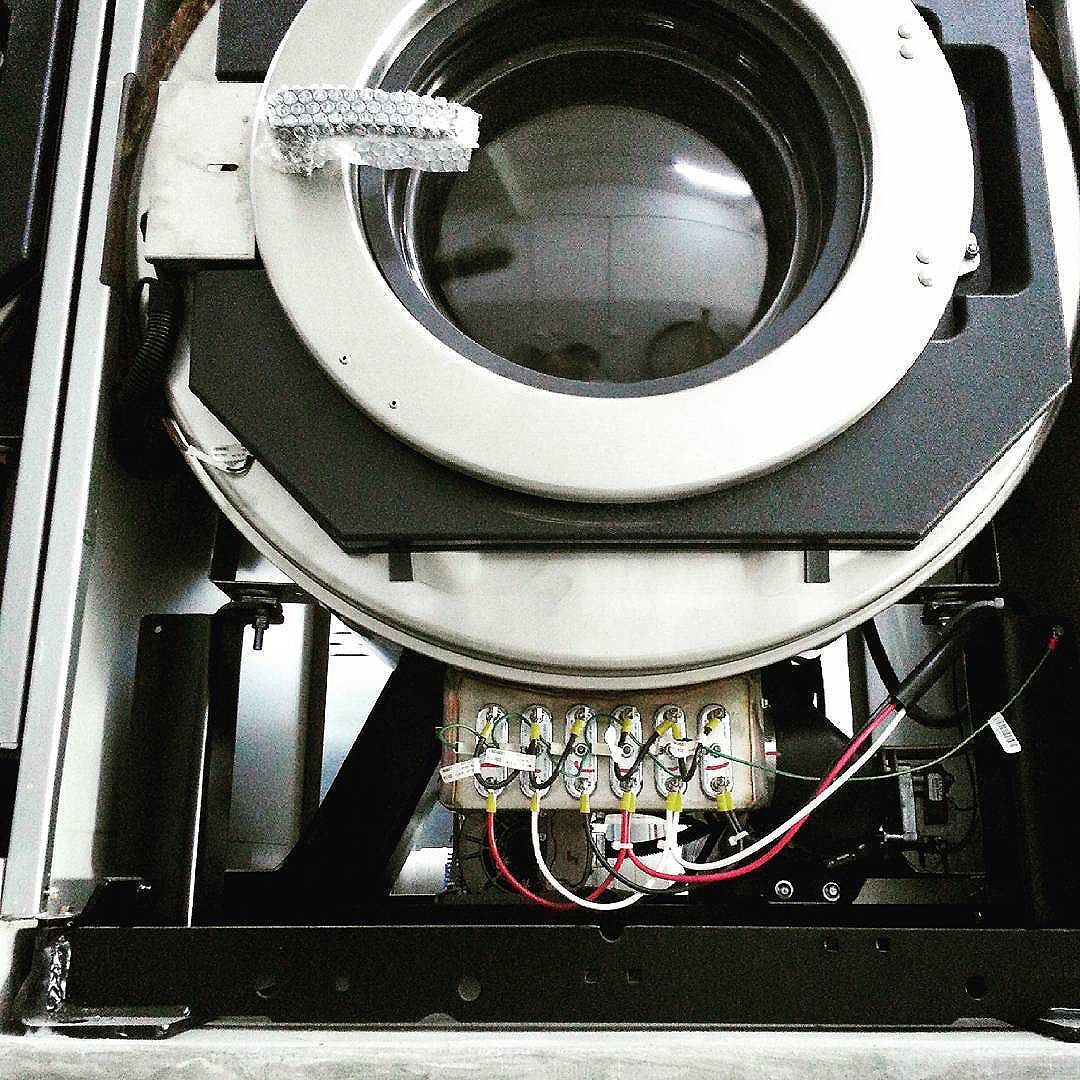 An Insider View Of Our Brand New Washer Extractor With Built In