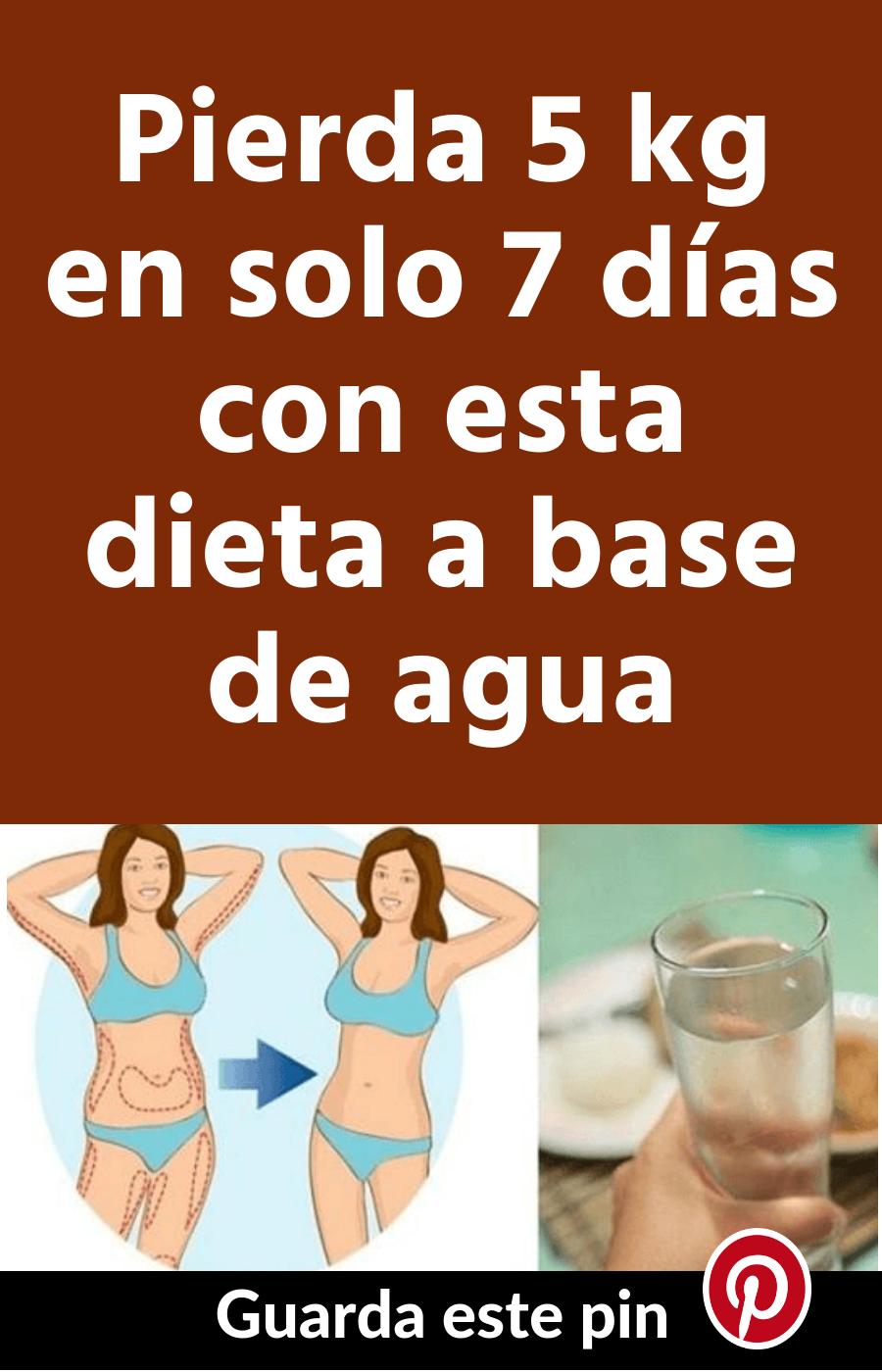 Dieta para adelgazar 5 kg en 7 dias