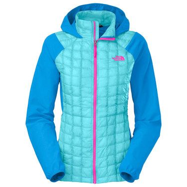 2b2f69620 The North Face Women's Thermoball Hybrid Hooded Puffer Jacket | The ...