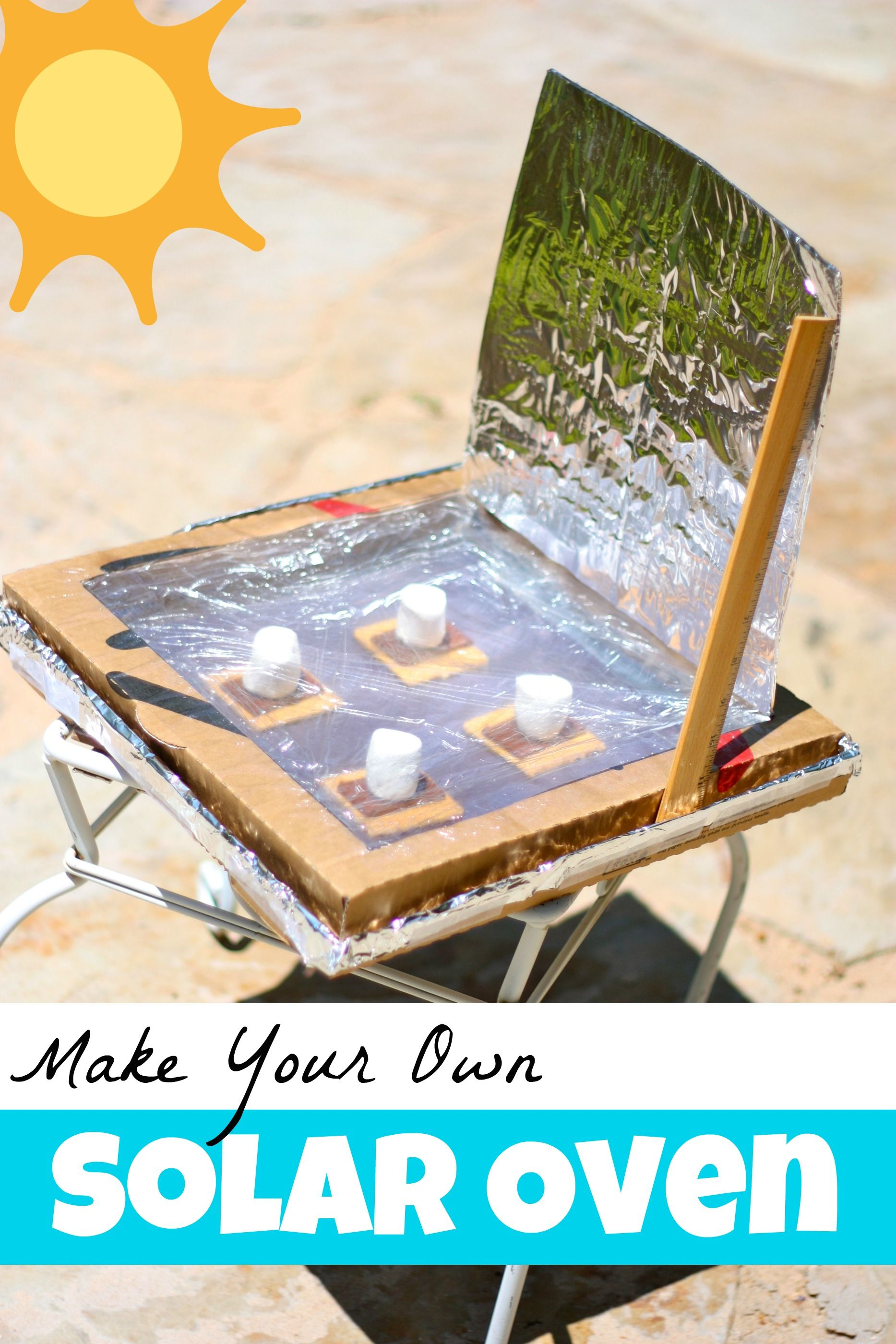 make your own solar oven science experiments fun
