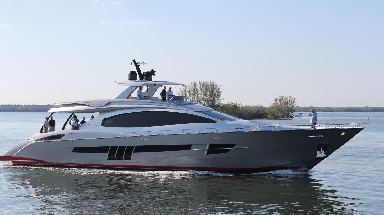Lazzara Lsx 92 Yacht A 9 Million Usd Work Of Art Barcos Veleros Botes