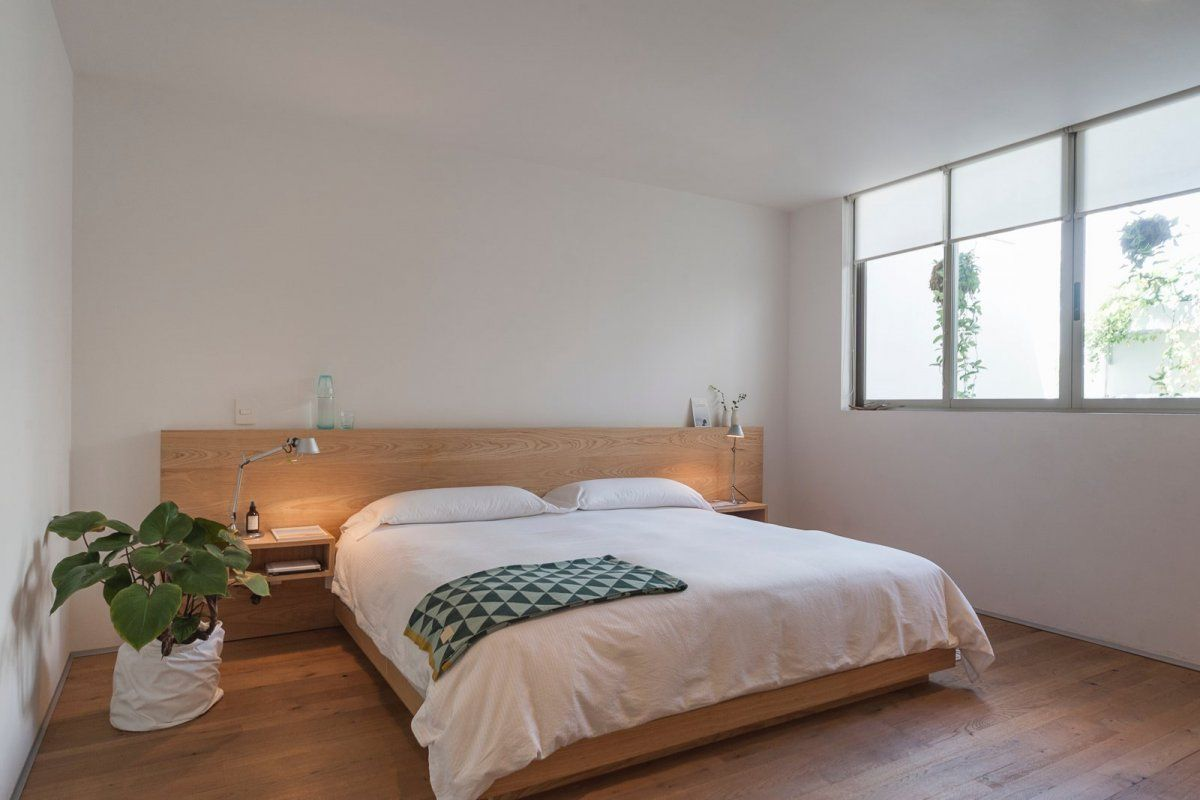 Nature inspired bedroom. Río Nilo Apt