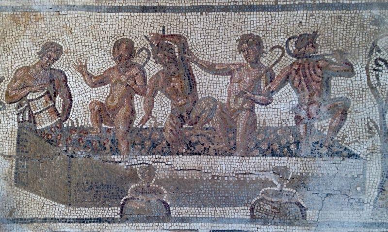 SPAIN / Hispania (Roman Spain) - Hallado en Écija un nuevo mosaico romano que gira en torno a los amores de Zeus