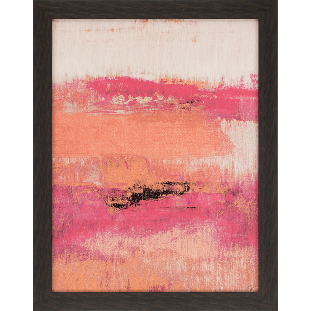 Orange Quiet Midnight The Color Orange Is Not Shy In This Stunning Giclee With A Texturized Finish Framed In A Dark Wood Fini Painting Prints Canvas Art Art