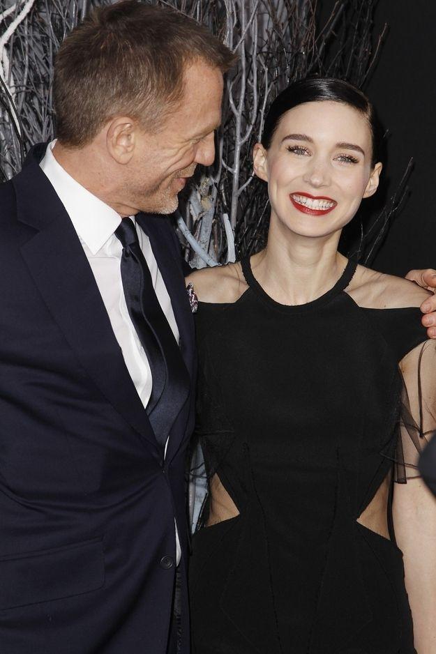 Rooney Mara & Daniel Craig