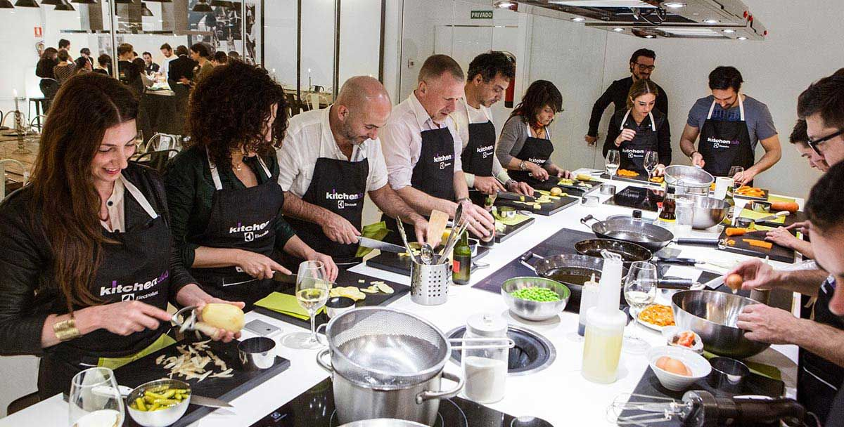 Eventos Y Cooking Party Cooking Classes Design Fire Eyes Cooking Classes