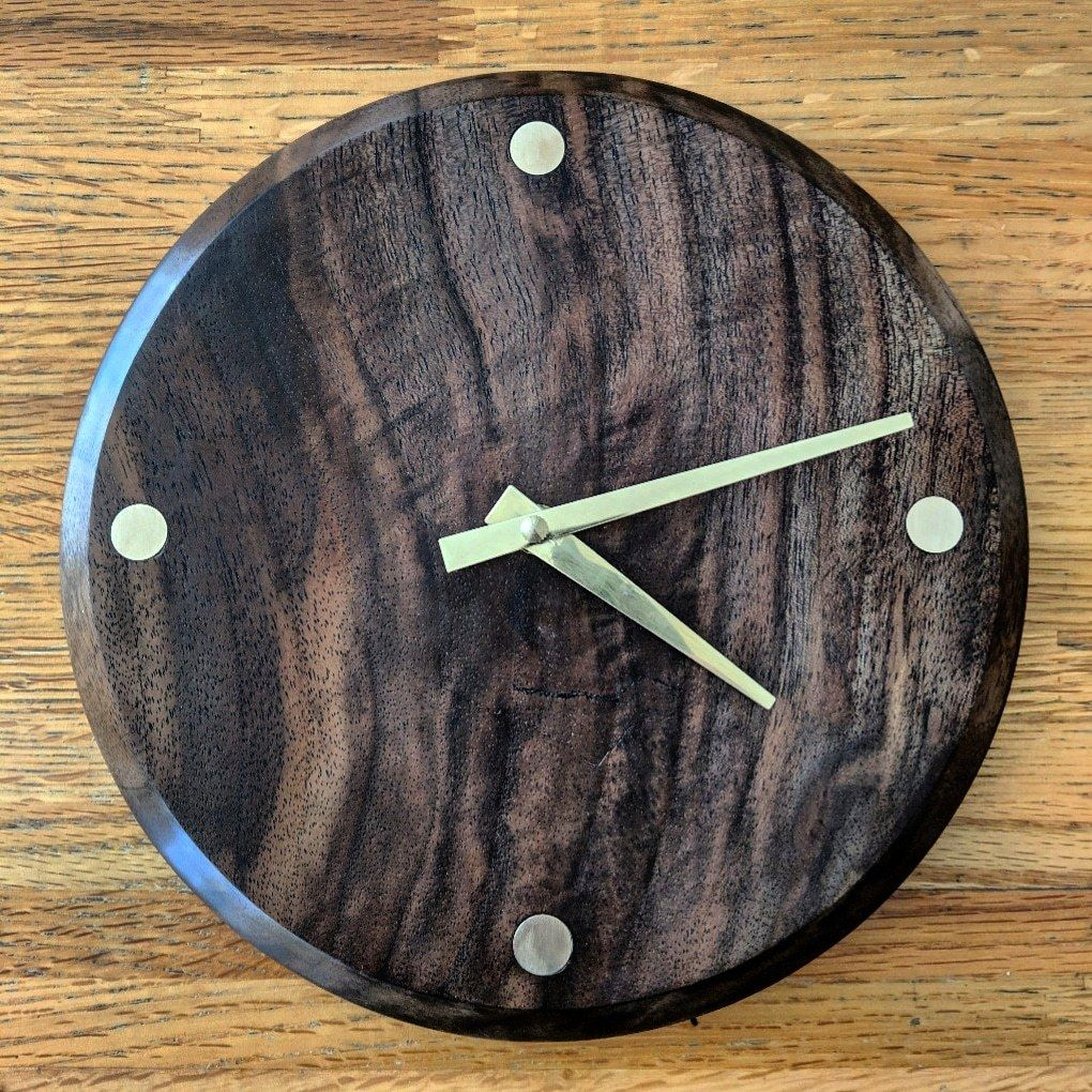 Finished up this little side project. Black walnut and ...