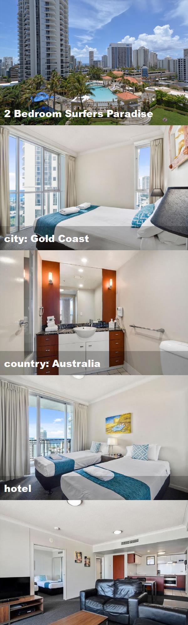 2 Bedroom Surfers Paradise City Gold Coast Country Australia Hotel Surfers Paradise Australia Hotels Gold Coast