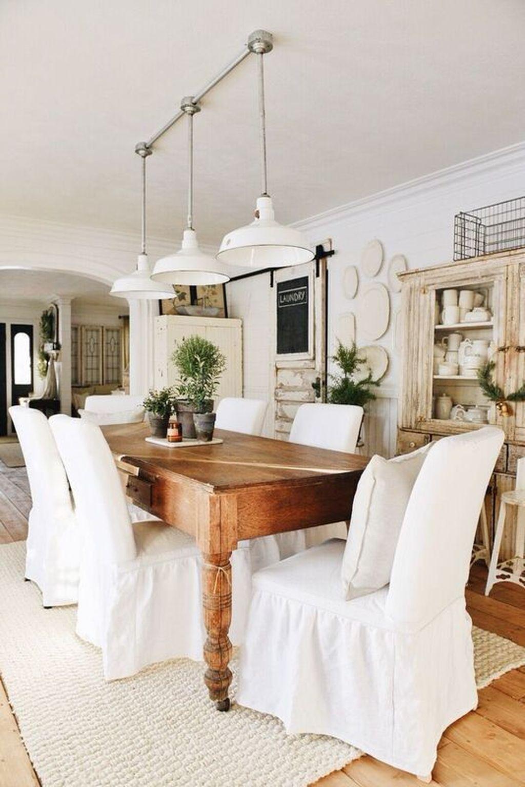 nice 56 Cozy Modern Farmhouse Dining Room