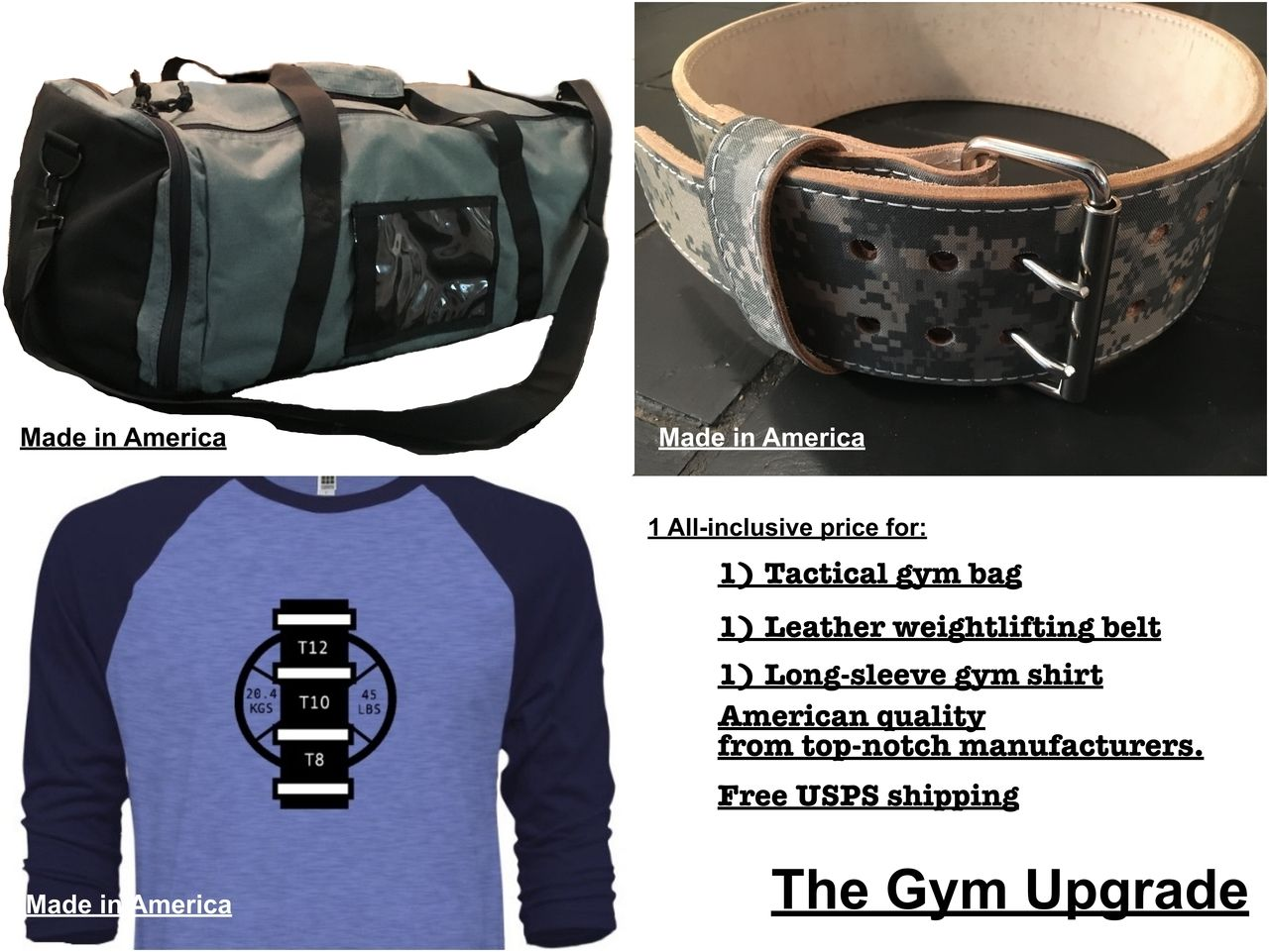 The Gym Upgrade (Made In America)