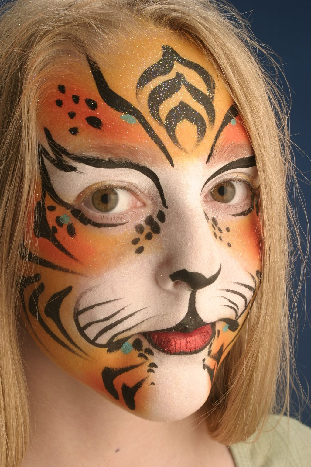 Never enough Lion face painting | Make Me (make up ...