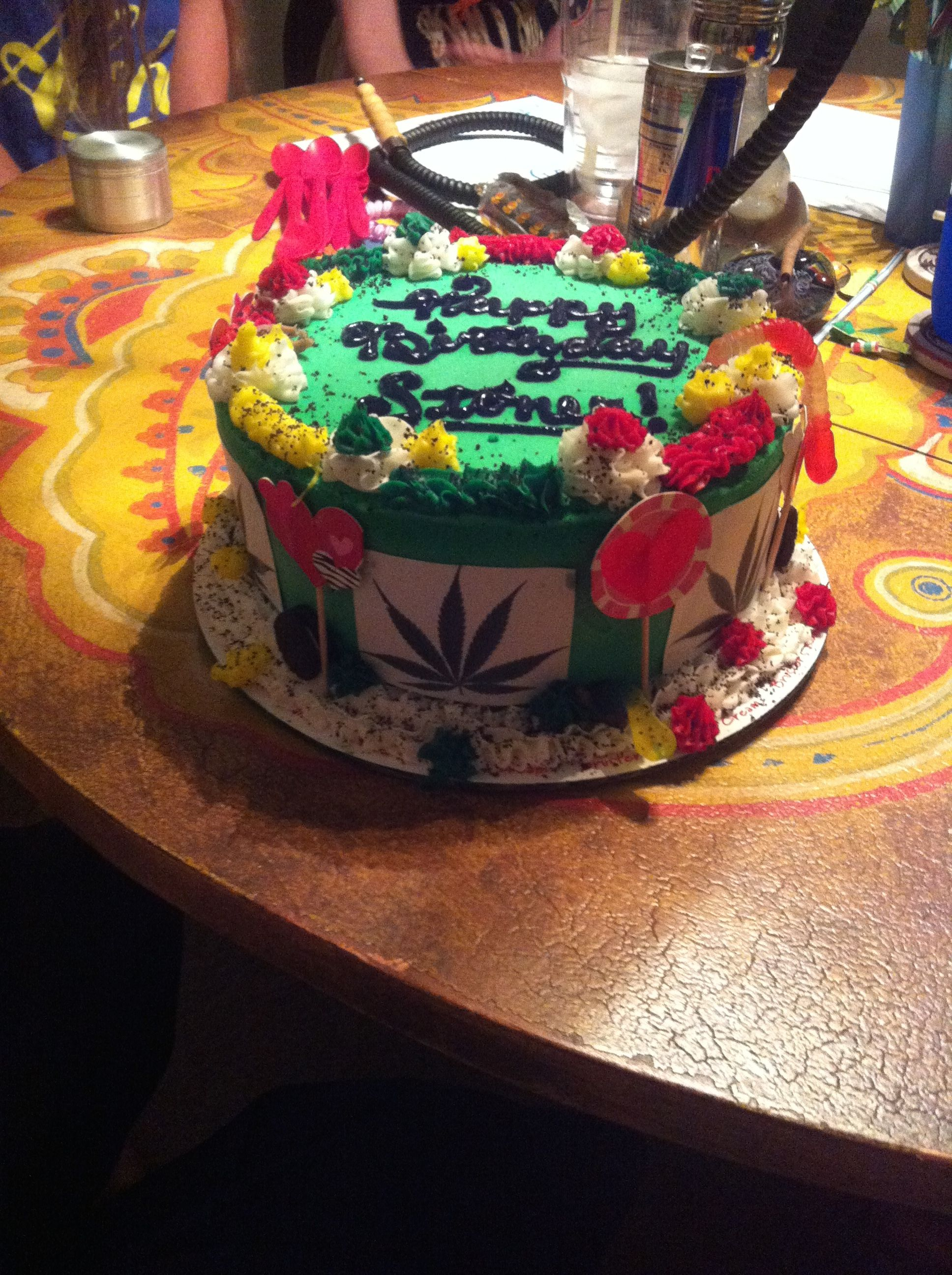 Stoner Birthday Cake | cake ideas | Birthday cake, Cake, Desserts