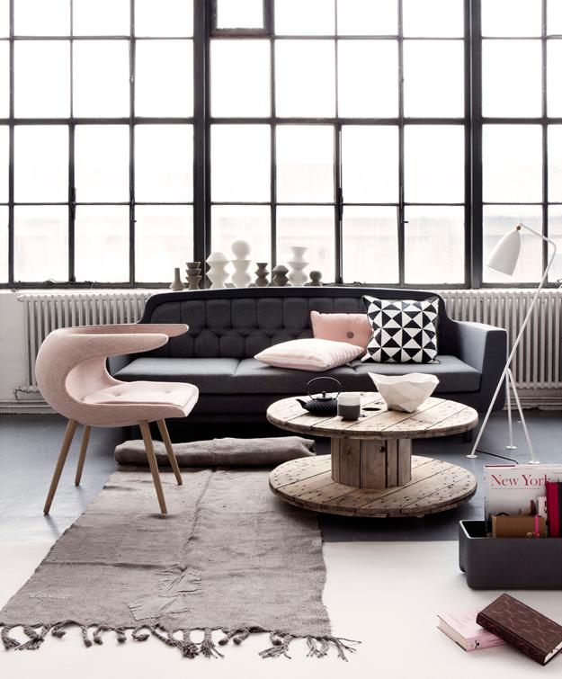 Déco & Couleurs ⎢ gris & rose poudré, stylé scandinave … - 13zor ...