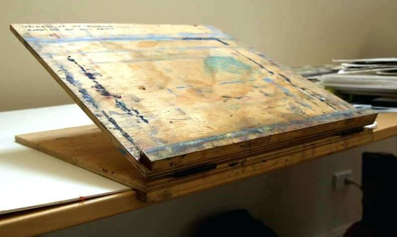 Diy Drafting Table How To Make A Tabletop Drawing Board Table