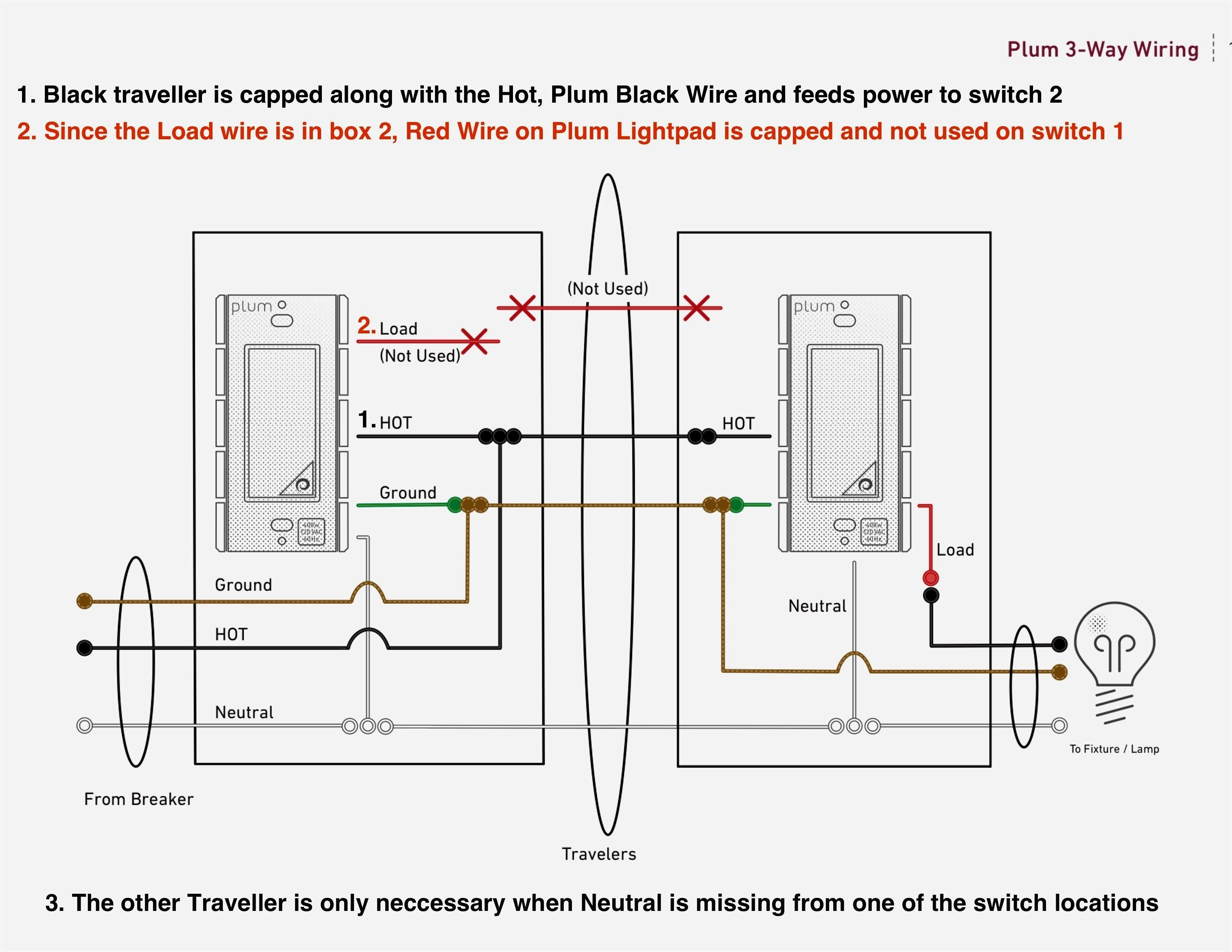 New Wiring Diagram for Multiple Lights On A Three Way