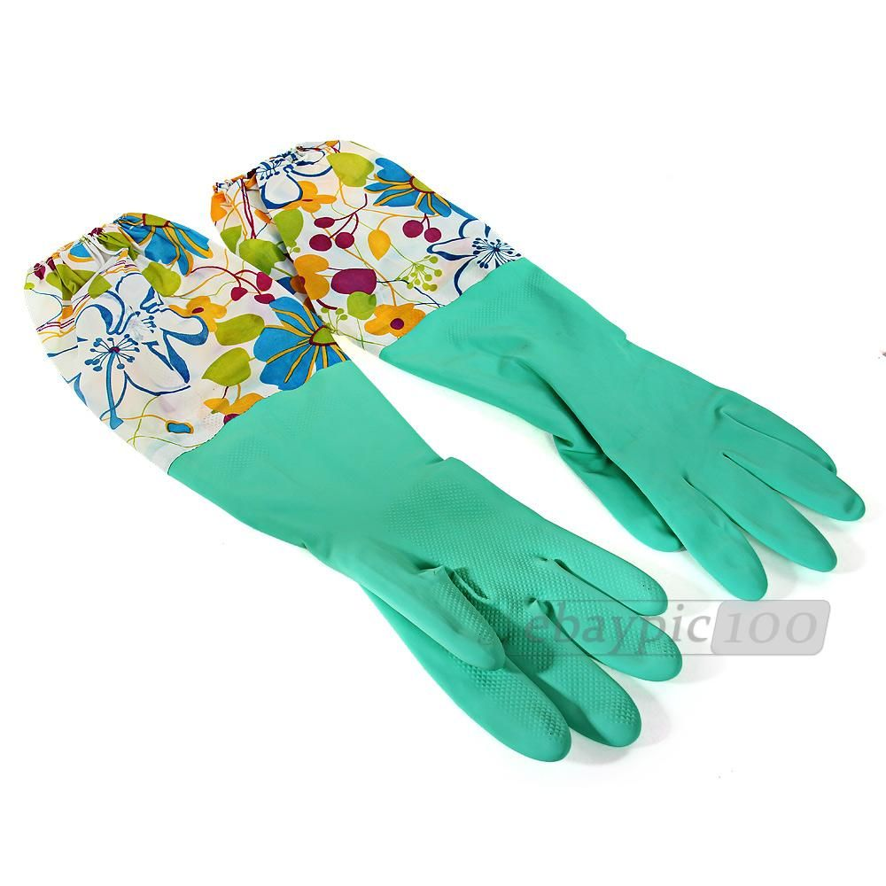 Rubber Gloves for Washing Dishes | Kitchen Cleaning Tools ...