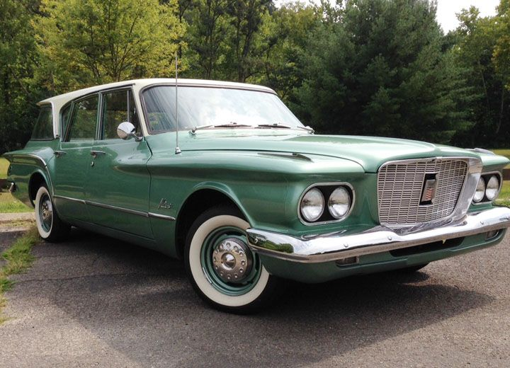 1960 Plymouth Valiant Station wagon | The Classic Car Feed ...