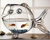Pisces is particularly fond of anything that appeals to the fish's natural affinity for water. Almost anything 'watery' is good, like seashell bookends, a set of seashell statues, a crystal fish bowl or a cool wall-mounted aquarium stocked with beautiful tropical fish.