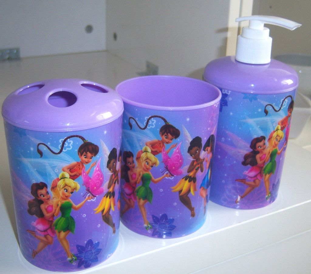 Tinkerbell Bathroom Accessories With