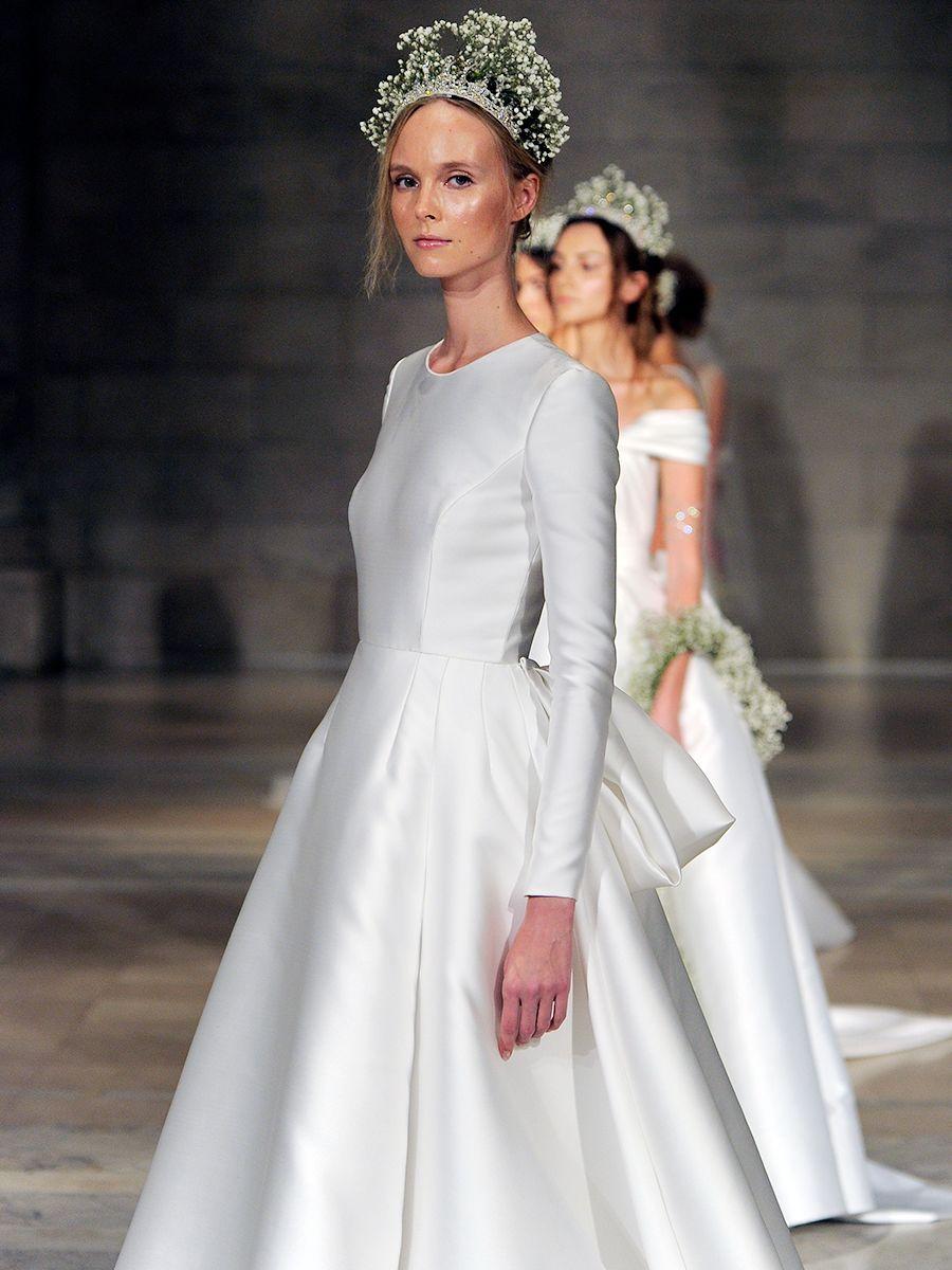 Reem Acra Fall 2018 Regal Looks With Boho Influence Wedding