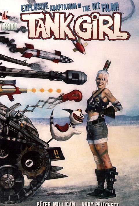 Movie Graphic Novel Tank Girl Photo 14026061 Fanpop Tank Girl Movie Tank Girl Comic Tank Girl
