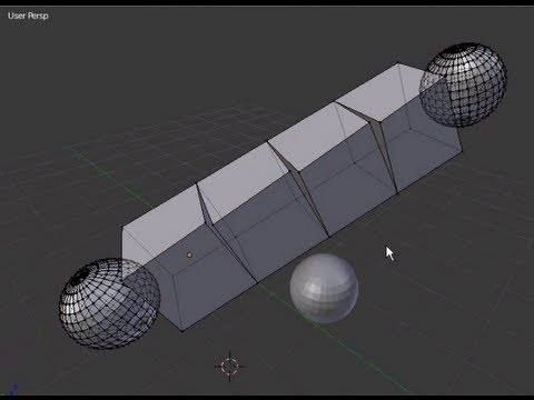 Tutorial Blender 3D 2.5 - Corso di base - 22: Mesh Modifiers: modificatori Array Bevel Build - #BasiModellazioneEAnimazione #Blender #Blender3D25 #CorsoBlender #InterfacciaGrafica #LezioniBlender #Redbaron85 #Videotutorial http://wp.me/p7r4xK-cc
