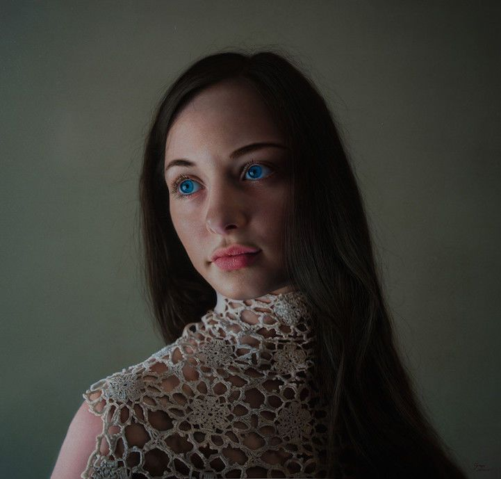 Artist Creates Stunning Hyper Realistic Paintings Of Women Hyper - Artist creates stunning hyper realistic paintings of women