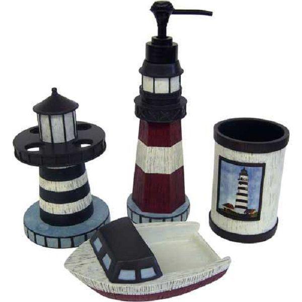 The Lighthouse Bathroom Decor Style