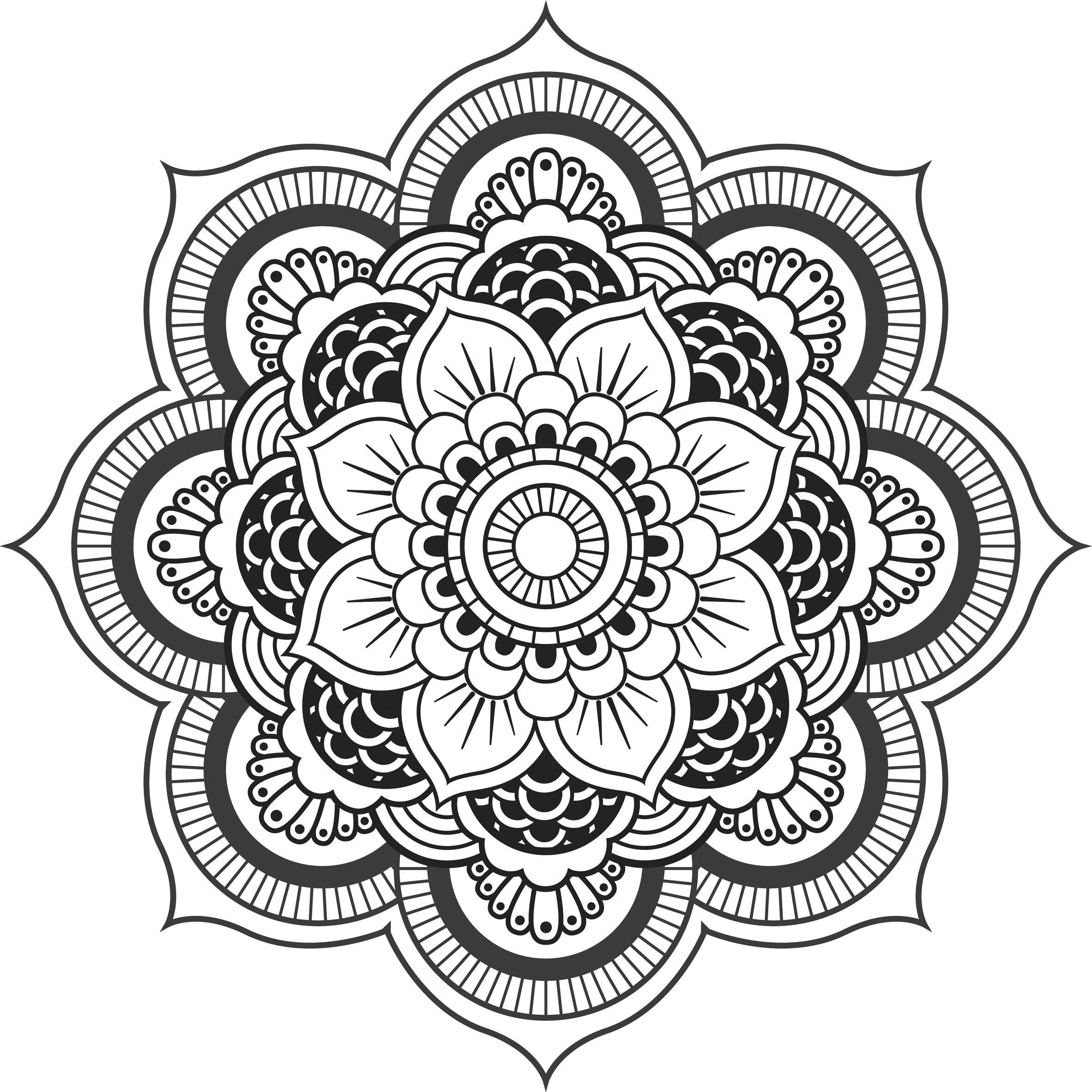 Mandala imprimer pour adulte recherche google plotter pinterest recherche google - Mandala adulte ...