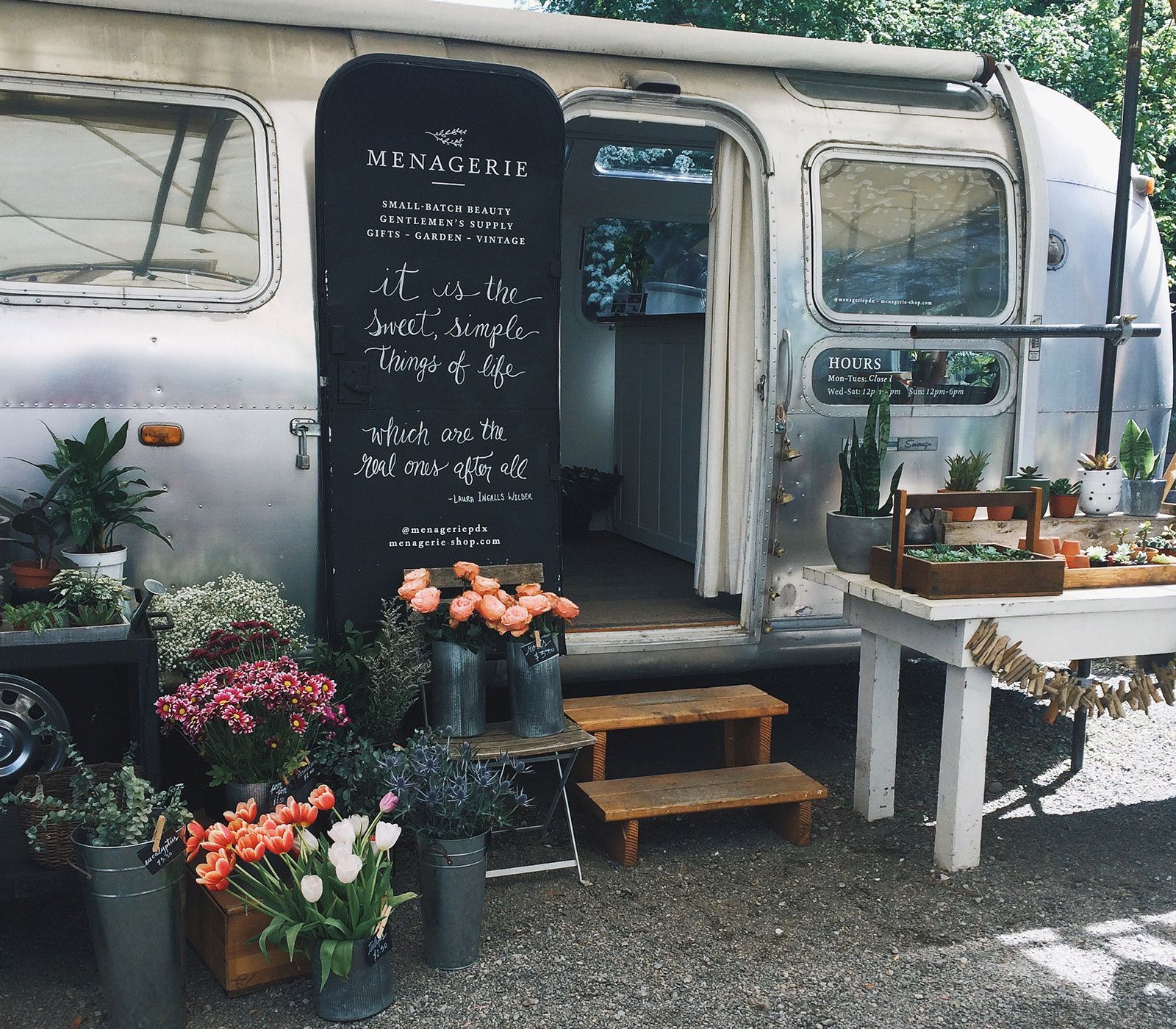Airstream: Portland's Adorable Airstream Beauty Shop