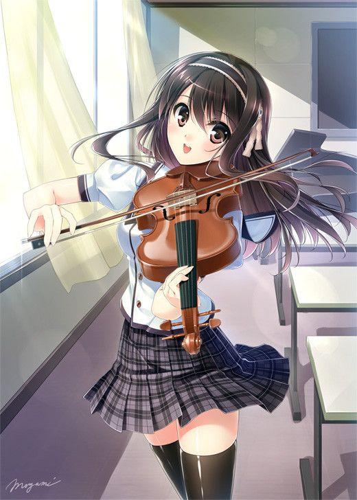 music anime girls others かわいいアニメの女の子 イラスト アニメ