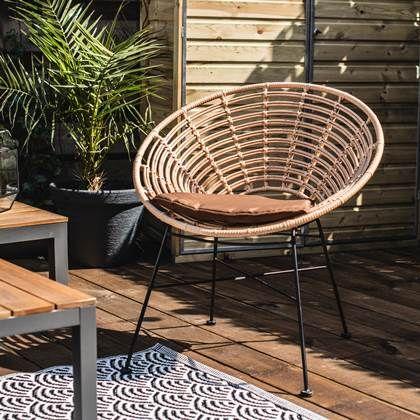 Outdoor Living by Decoris Lisbon Tuinstoel - Tuinstoelen ... on Decoris Outdoor Living id=78295