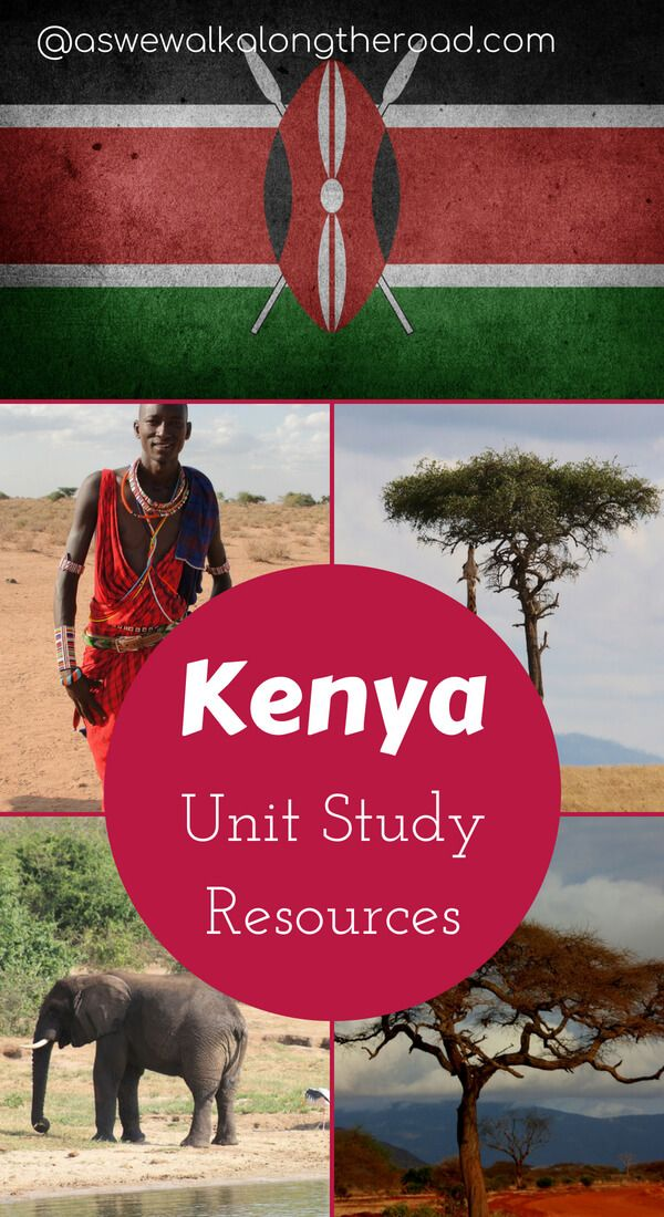 Photo of Kenya Unit Study Ideas and a FREE Printable Country Study Packet