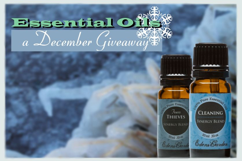 December 6th - 9th: Essential oil Giveaway!