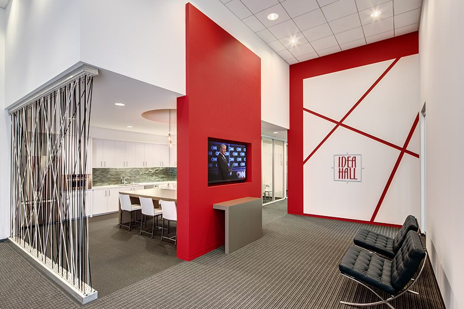 Idea Hall Headquarters | Costa Mesa California | Interior Design By H.Hendy  Associates