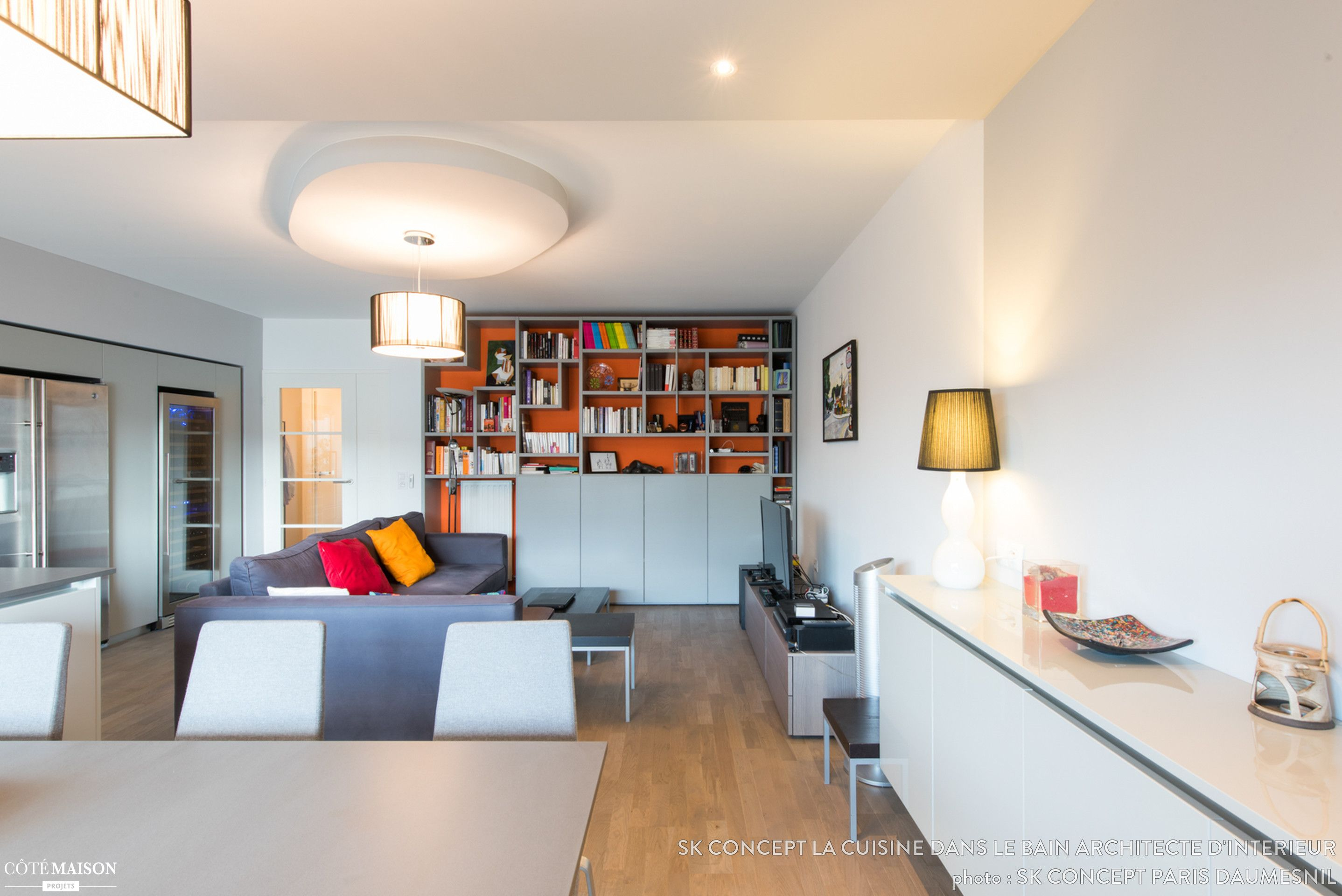 amenagement grand appartement