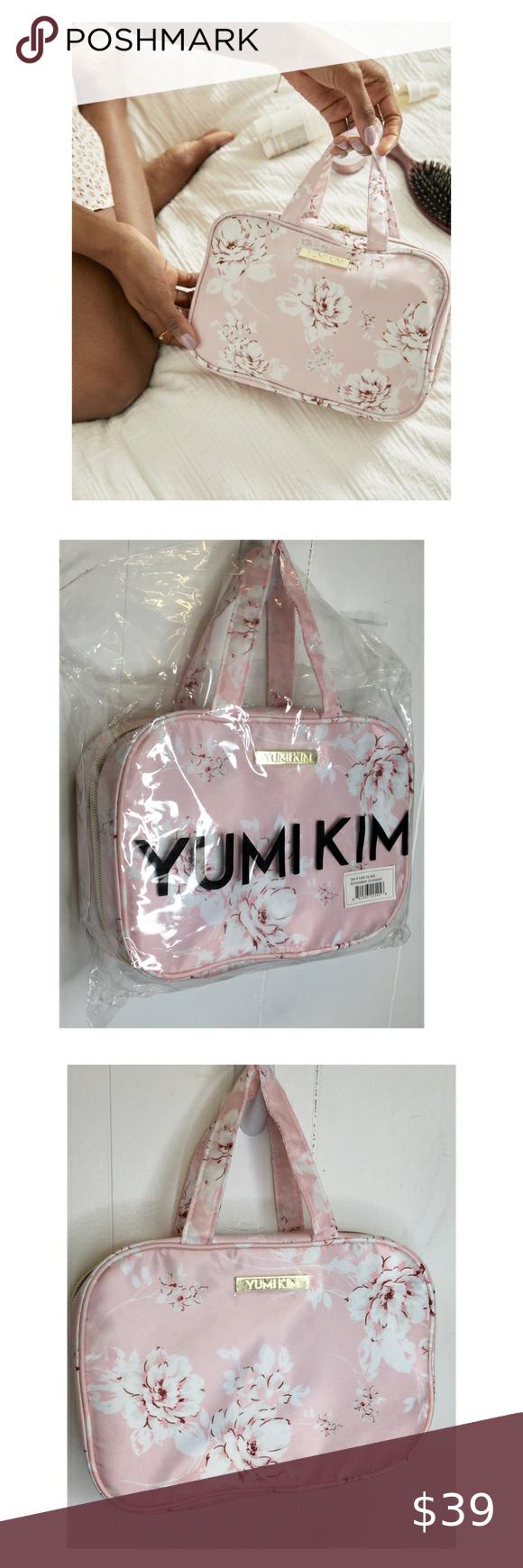 YUMI KIM NWT Wanderlust Makeup Travel Case Pink NWT in