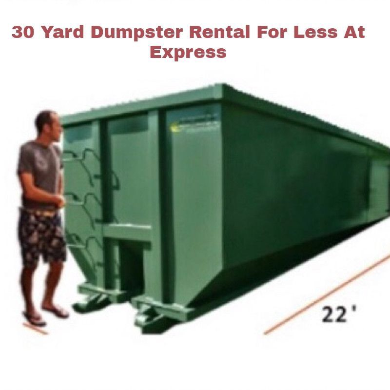 30 Yard Dumpster Rental For Less Palm Bay Florida Dumpster Rental Dumpster Dumpsters