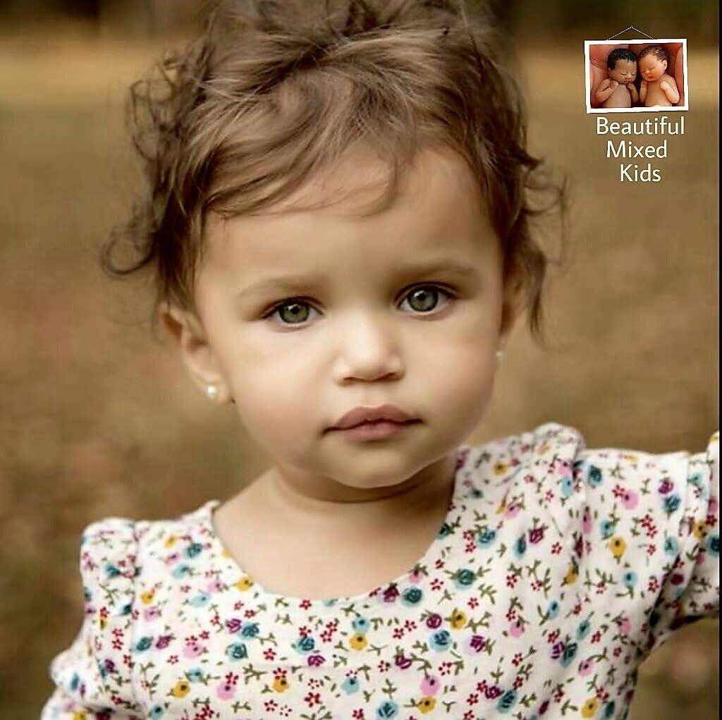 Aubree Blake • 1 Year • African American & Caucasian | Beautiful Mixed Kids | Pinterest | Babies ...