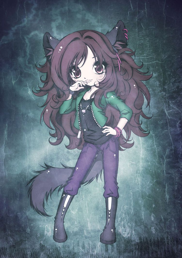 Yo call me ash i 39 m a half bread of a human and a wolf - Wolf girl anime pictures ...