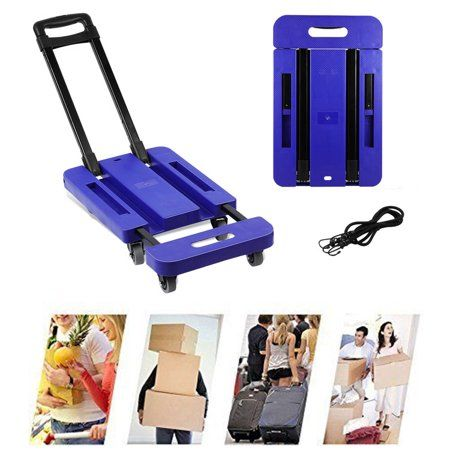 4c27b617254b Push Cart Dolly Functional Moving Platform + Hand Truck Foldable for ...