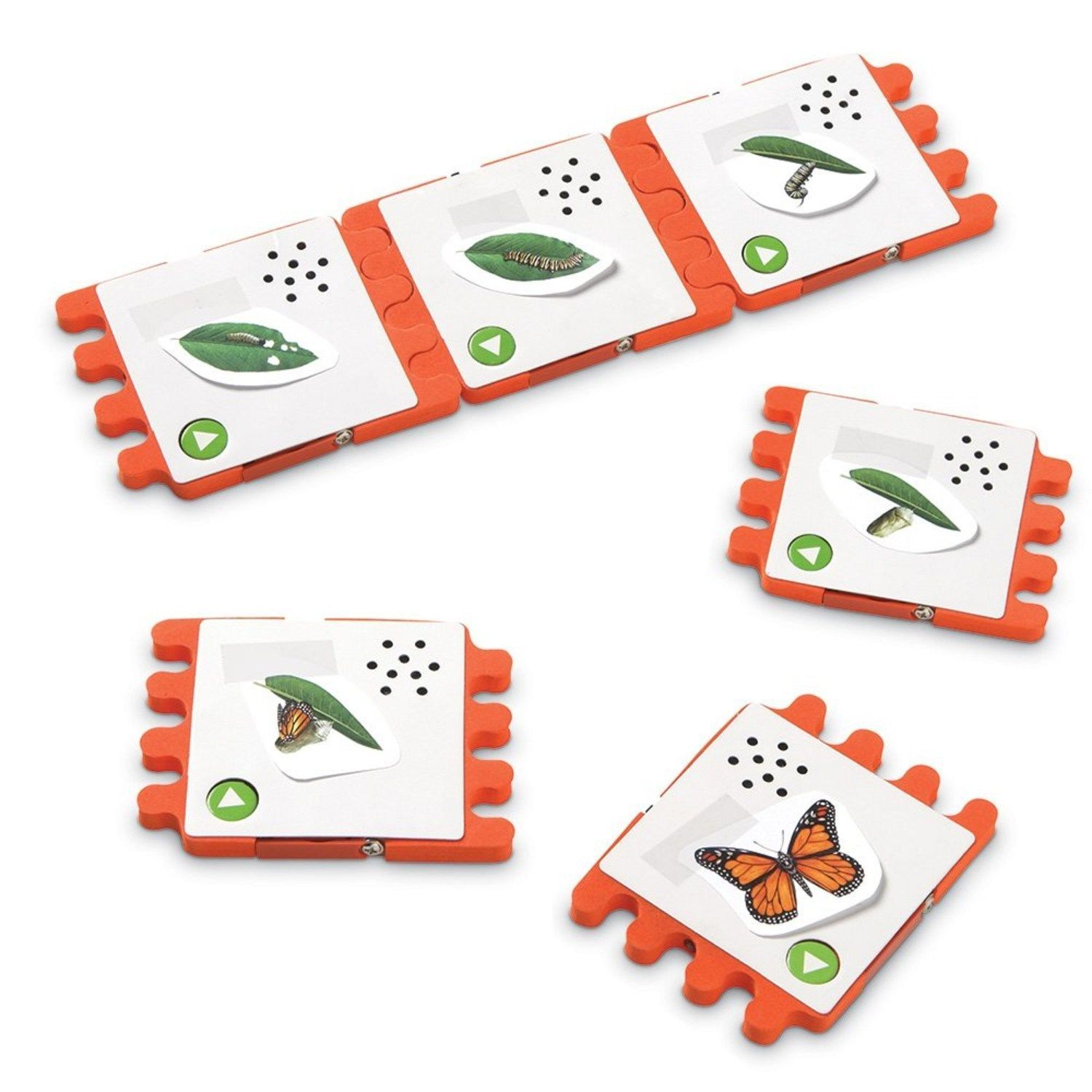 Learning Resources Talk Links Recordable Sequencing Tiles | eBay
