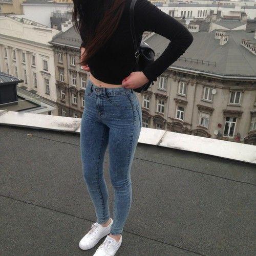 Imagen de girl, fashion, and jeans