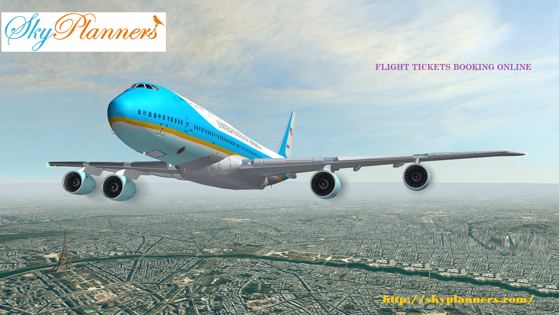 Get the best and cheap flight tickets booking online from
