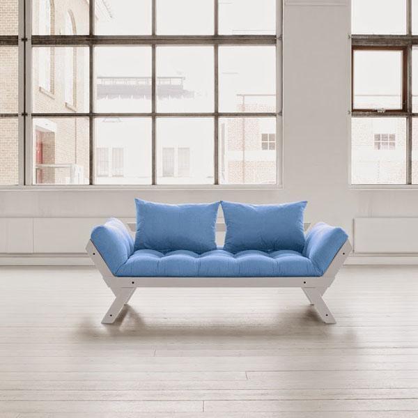 Diván cama Bebop azul celeste | Muebles ecológicos | Pinterest ...